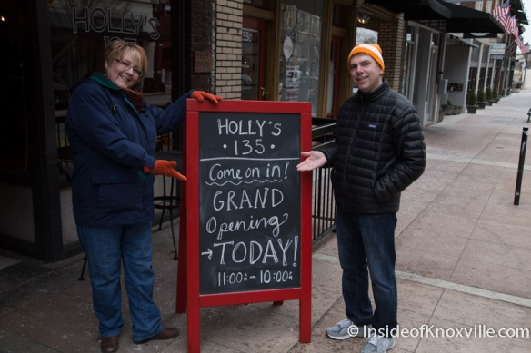 Holly's 135, 135 S. Gay Street, Knoxville, February 2015
